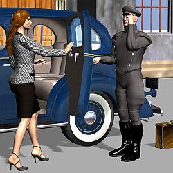 Servizio di autista con auto del cliente