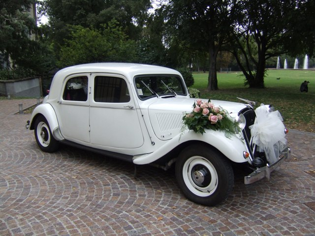 Auto d'epoca per matrimoni- Citroen Traction Avant