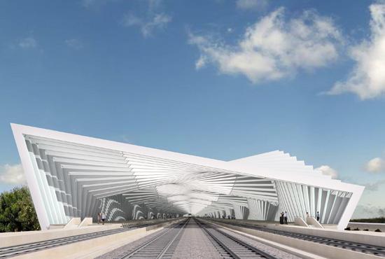 Stazione Mediopadana Ferrovia Alta