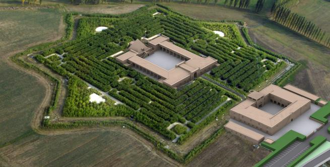 Visitare il labirinto della Masone con Noleggio con Conducente